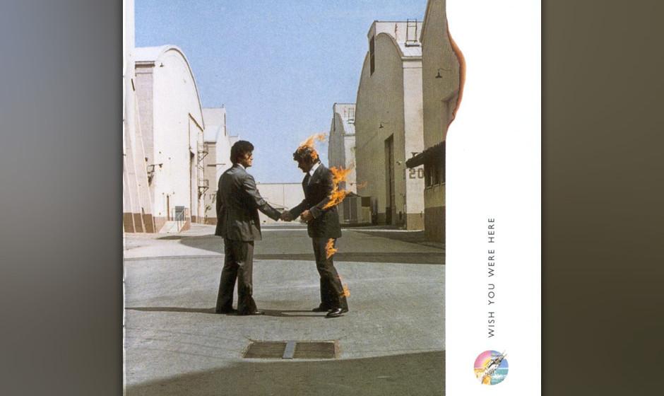 """211. Wish You Were Here: Pink Floyd 1975. Der Nachfolger von """"Dark Side Of The Moon"""" war ein weiterer Kommentar zum tägl"""