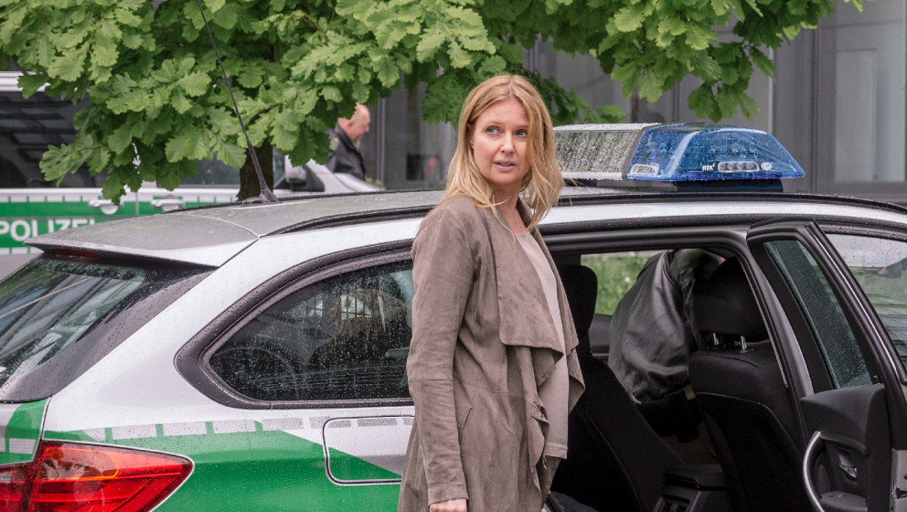 Vera Lanz (Katharina Böhm)   Honorarfrei - nur für diese Sendung bei Nennung ZDF und Hendrik Heiden