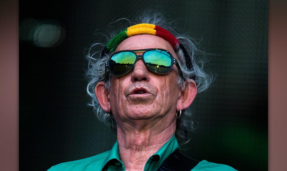 Meister der Meinungen: Keith Richards hat zu vielen Themen eine.