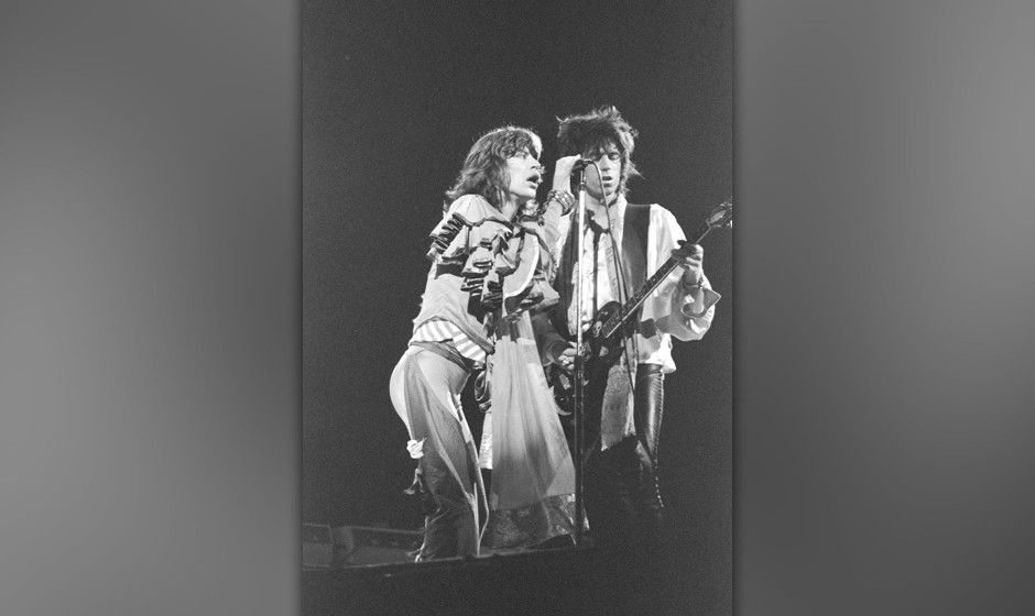 Mick Jagger and Keith Richards of the Rolling Stones, 1970s   (Photo by Chris Walter/WireImage)