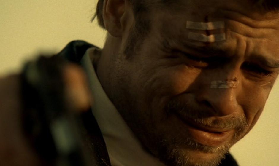 9. Seven (1995). Recht hart tritt der von Pitt gespielte Detective Mills bei seinen Ermittlungen auf, jedoch lässt er keine
