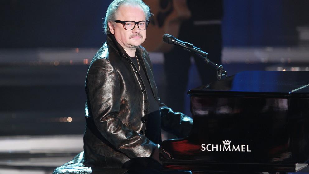 Heinz Rudolf Kunze, eigentlich Heinz Rudolf Erich Arthur Kunze - der deutsche Saenger, Schriftsteller und Musicaltexter bei d