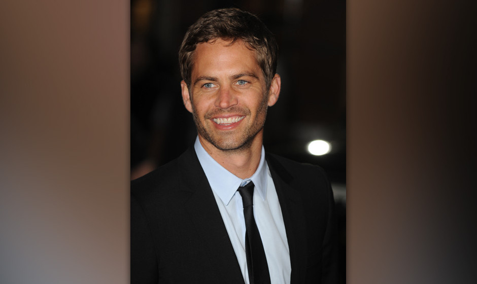 Image #: 7391840    American actor Paul Walker attends the premiere of 'Fast And Furious' at Vue, Leicester Square in London