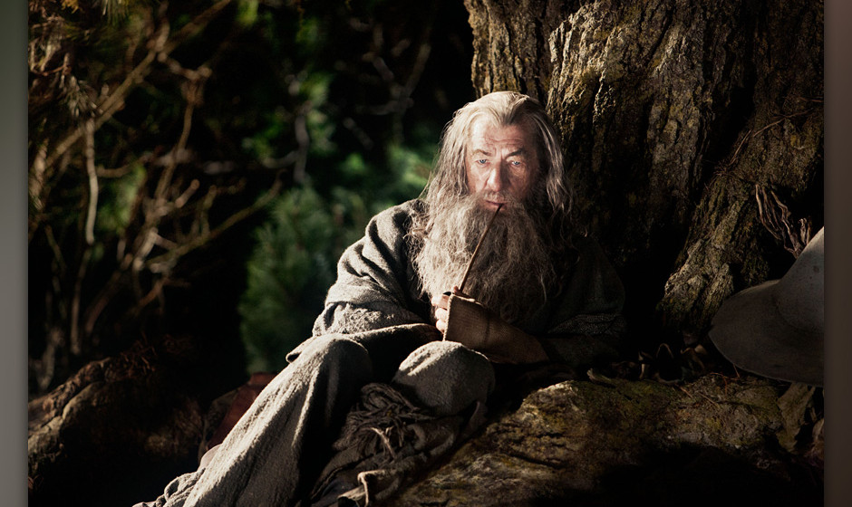 """IAN McKELLEN as Gandalf in New Line Cinema's and MGM's fantasy adventure """"THE HOBBIT: AN UNEXPECTED JOURNEY,"""" a Warner"""