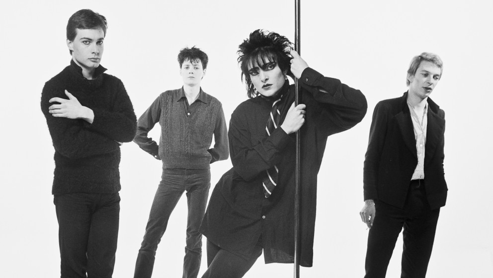 Siouxsie and the Banshees (guitarist John McKay, drummer Kenny Morris, singer Siouxsie Sioux, and bassist Steven Severin), Br