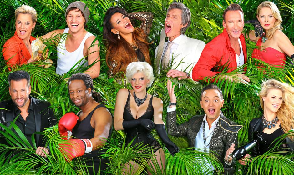 V.l., oben: Komikerin Tanja Schumann (51), S‰nger Marco Angelini (29), S‰ngerin Gabby de Almeida Rinne (24), Schauspieler