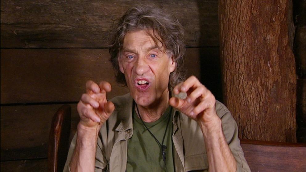 Tag 13 im Camp - Winfried Glatzeders Rundumschlag gegen Melanie geht im Dschungeltelefon weiter. 'Als wenn sie eine junge Fel
