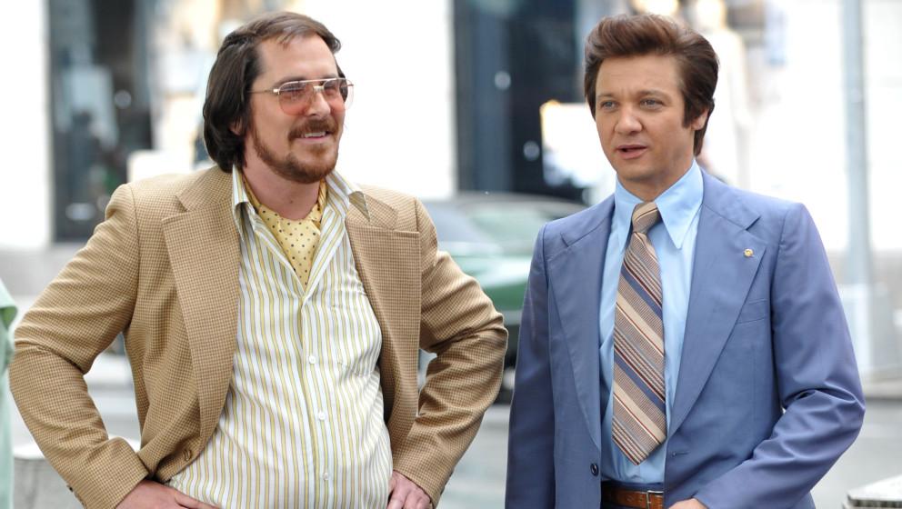 1. American Hustle: Bester Film, Bester Hauptdarsteller (Christian Bale), Beste Hauptdarstellerin (Amy Adams), Bester Nebenda