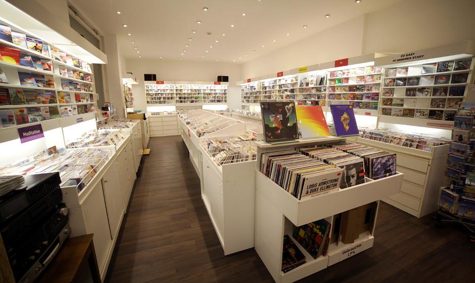 Unsere Plattenladenempfehlung ist Musik Schlaile in derK aiserstraße 175 in 76133 Karlsruhe.
