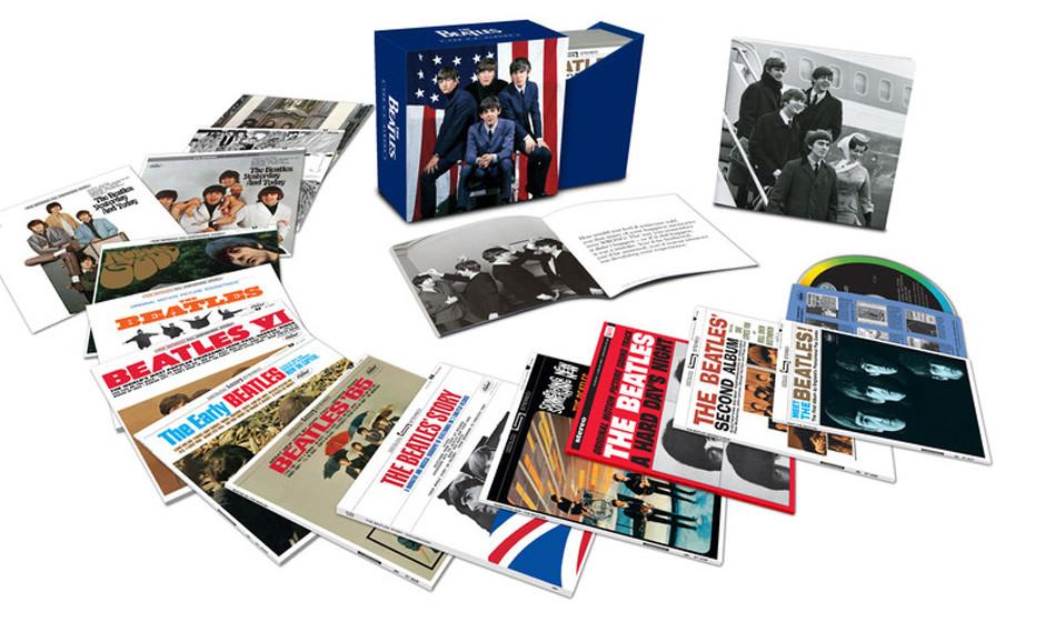 """The Beatles –'The US Albums'. Alle US-Alben-Veröffentlichungen von """"Meet The Beatles"""" bis """"Hey Jude"""". Die US-Ver"""