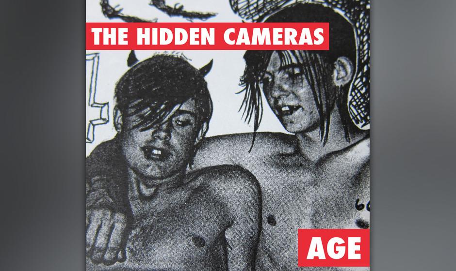 The Hidden Camers - 'Age'. 'Gay Goth Scene' war die erste Single, nun ist auch das Album da: The Hidden Cameras aus Kanada le