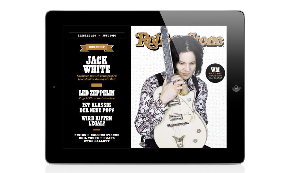 Die Juni-Ausgabe des ROLLING STONE ist da - Titelstory: Jack White