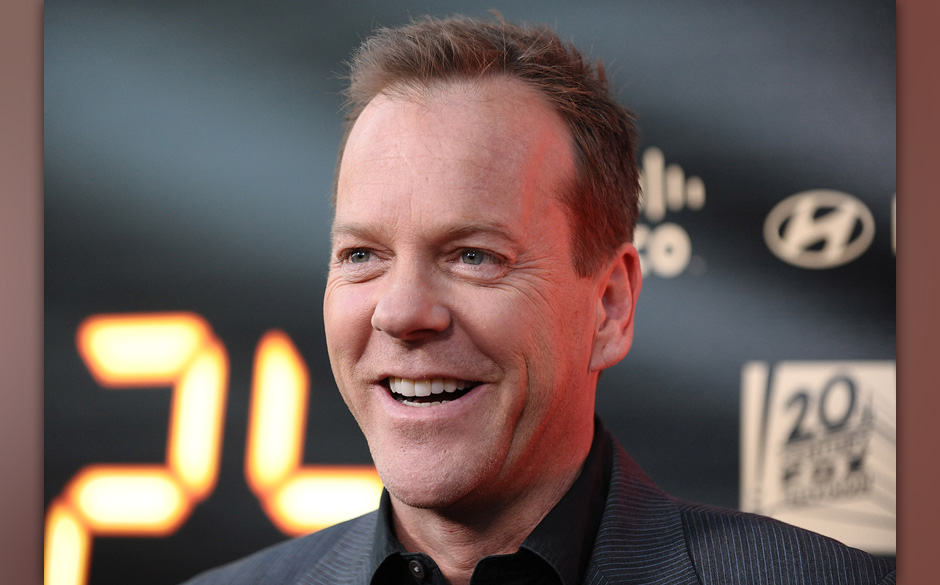 HOLLYWOOD - APRIL 30:  Actor Kiefer Sutherland attends the '24' series finale party at Boulevard3 on April 30, 2010 in Hollyw
