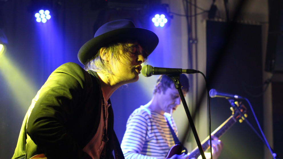 Pete Doherty live im Berliner Fluxbau am 7. Februar 2014