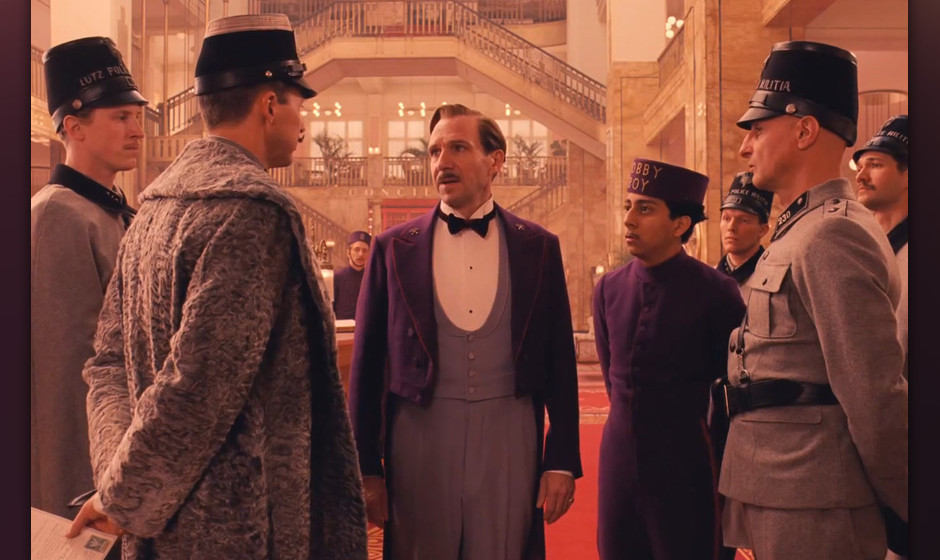 Wes Andersons 'Grand Budapest Hotel'.