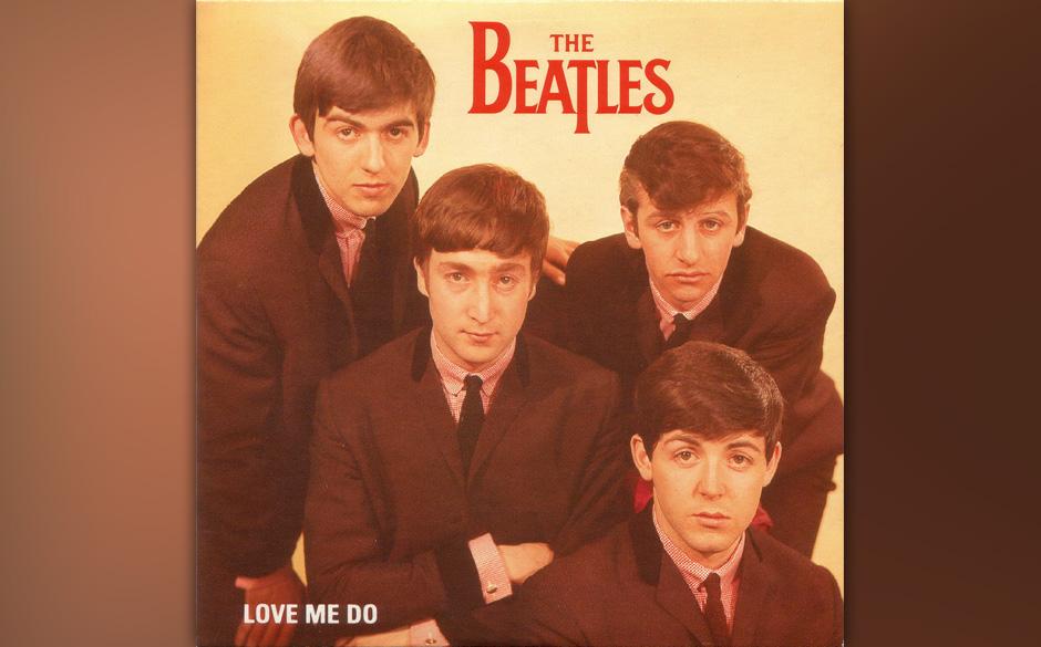 """87. """"Love Me Do"""" Autor: McCartney-Lennon, Aufgenommen: 11. September 1962, Veröffentlicht: 28. Februar 1963, keine Chart"""