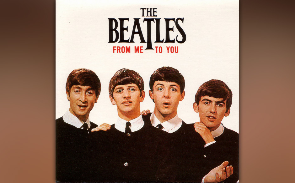 """72. """"From Me To You"""" Autor: Lennon/McCartney, Aufgenommen: 5. März 1963, Veröffentlicht: 8. April 1963, keine Chartplat"""