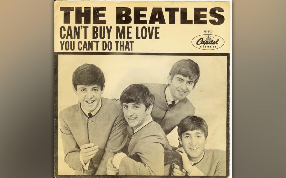 """70. """"You Can't Do That"""" Autor: Lennon, Aufgenommen: 25. Februar 1964, Veröffentlicht: 9. März 1964, B-Seite (""""Can�"""