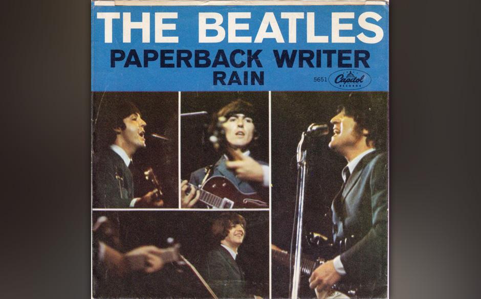 """88. """"Rain"""" Autor: Lennon, Aufgenommen: 14. und 16. April 1966, Veröffentlicht: 23. Mai 1966, B-Seite (""""Paperback Write"""