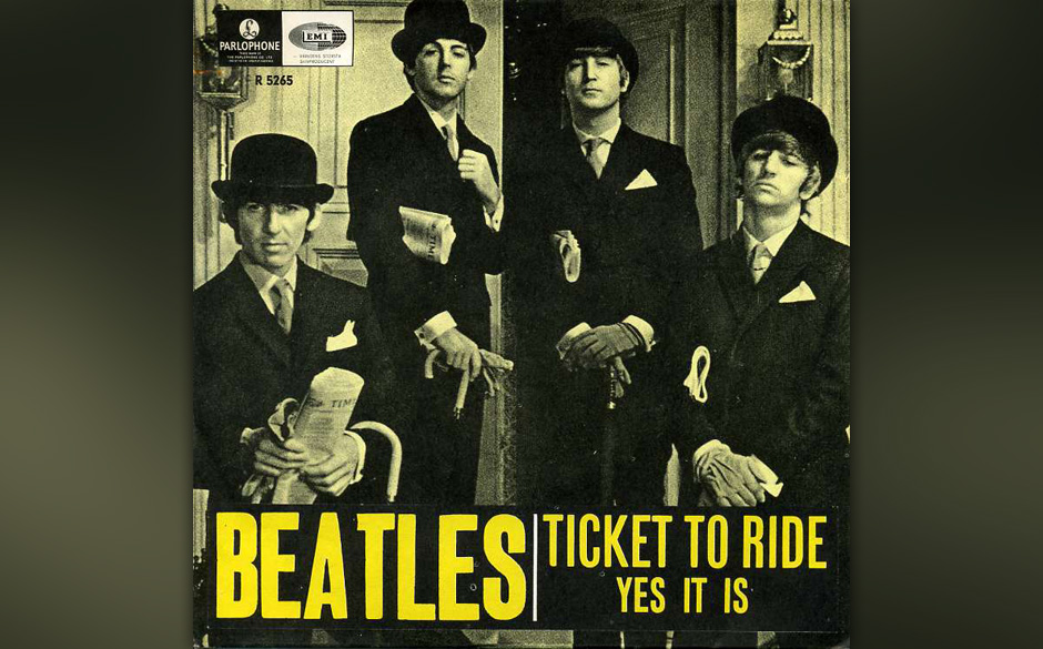 """99. """"Yes It Is"""" Autor: Lennon, Aufgenommen: 16. Februar 1965, Veröffentlicht: 25. März 1965, B-Seite (""""Ticket To Ride"""