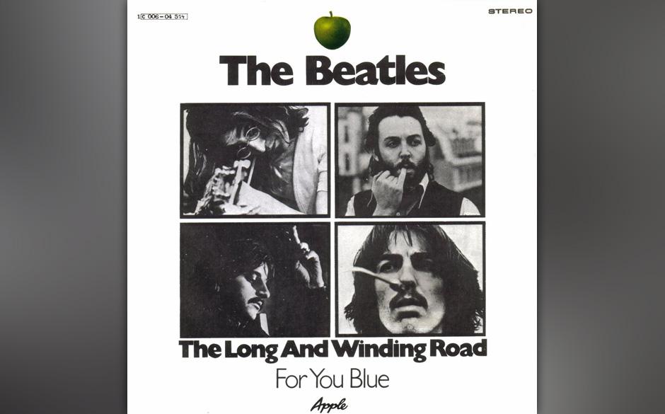 """90. """"The Long And Winding Road"""" Autor: McCartney, Aufgenommen: 26. und 31. Januar 1969, 1. April 1970, Veröffentlicht: 8"""