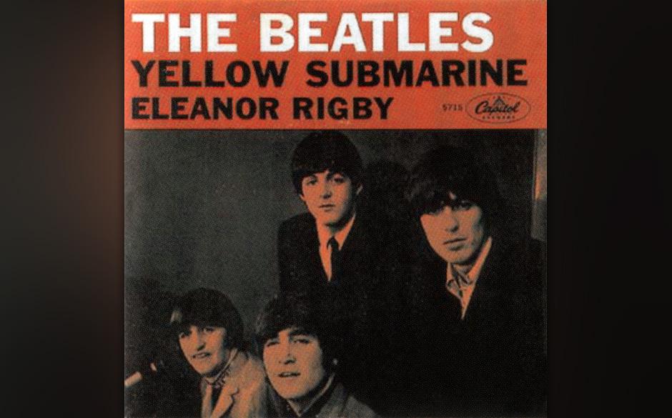 """74. """"Yellow Submarine"""" Autor: McCartney, Aufgenommen: 26. Mai und 1. Juni 1966, Veröffentlicht: 28. Juli 1966, 7 Wochen,"""