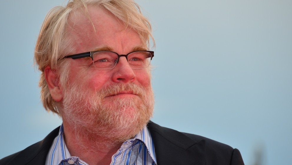 US actor Philip Seymour Hoffman arrives for the screening of 'The Master' during the 69th Venice Film Festival on September 1