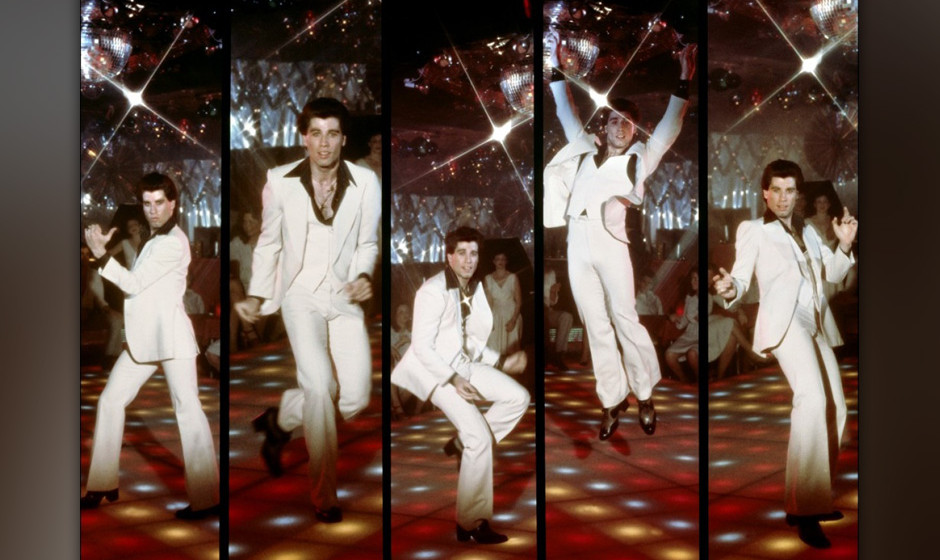 4. Saturday Night Fever (1977). Der perspektivlose Jüngling Tony sieht im Nachtleben seine Chance zum sozialen Aufstieg. Tra
