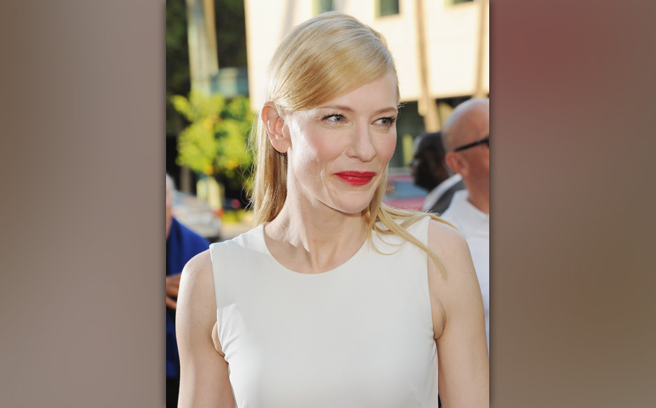 BEVERLY HILLS, CA - JULY 24:  Actress Cate Blanchett arrives at the Los Angeles Premiere 'Blue Jasmine' at the Academy of Mot
