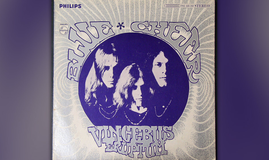 "73. Blue Cheer: 'Vincebus Eruptum' (1968) Wird ""You Really Got Me"" gemeinhin als Powerchord-Schablone des Hardrock und He"