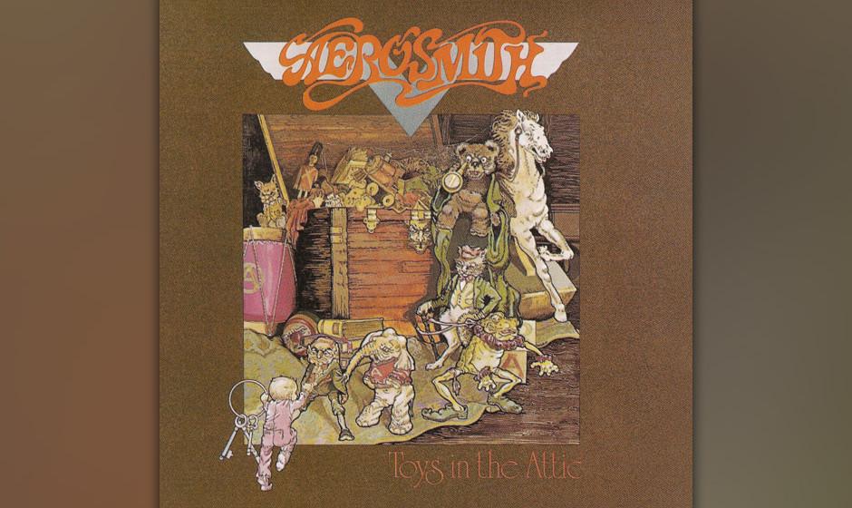 76. Aerosmith: 'Toys In The Attic' (1975) Das dritte Album bescherte den Durchbruch. Das Songwriting pointierter und die erot