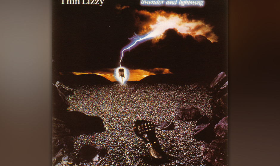 82. Thin Lizzy: 'Thunder And Lightning' (1983) Phil Lynotts homogenstes und einziges pures Metal-Album. John Sykes kam von de
