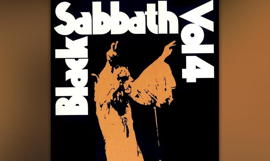 83. Black Sabbath: 'Vol. 4' (1972) Dominierte auf dem Marihuana-schwangeren Vorgänger noch schleppende Langsamkeit, ist das