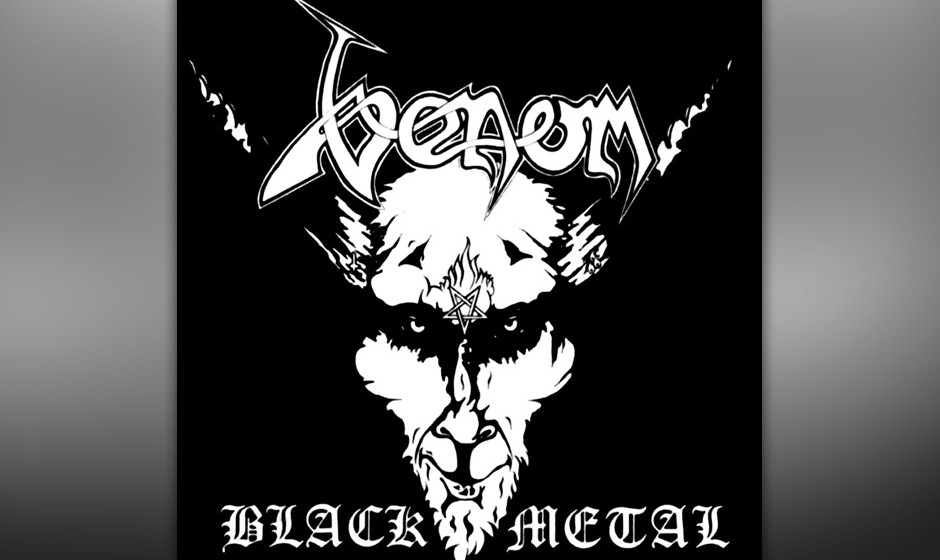 "92. Venom: 'Black Metal' (1982) ""Home taping ist killing music … So are Venom"", versprach das Backcover. Die Band hatte"