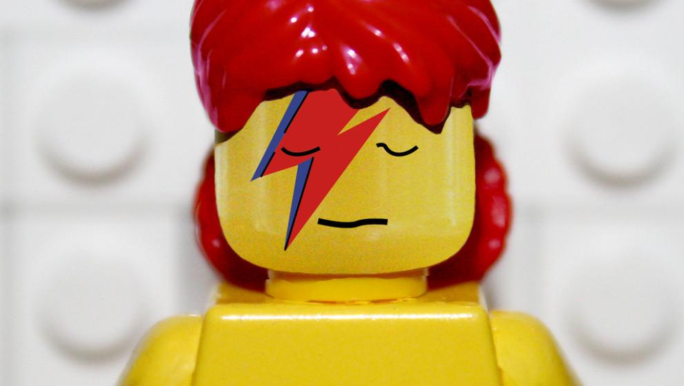 Bowie als Aladdin Sane