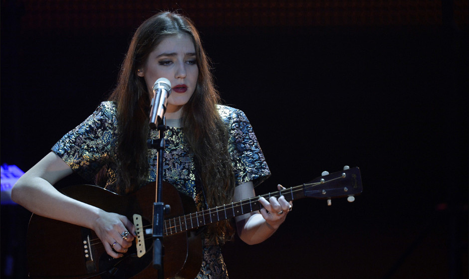British singer Birdy performs during the 2014 Echo Music Awards in Berlin, on Thursday, March 27, 2014. The German music awar