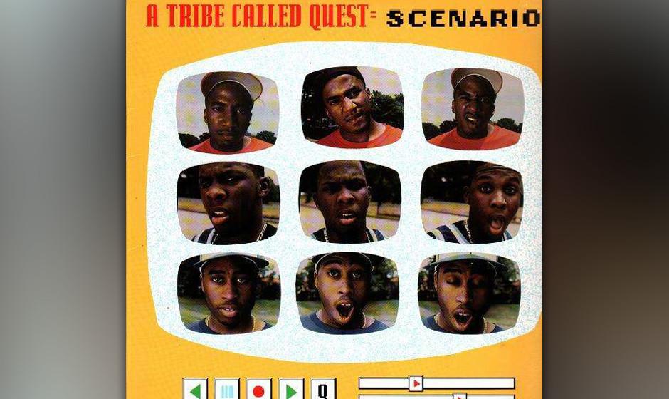 26. A Tribe Called Quest - 'Scenario' ('The Low End Theory, 1991) Q-Tip, Phife Dawg und Ali Shaheed Muhammad haben einen Ruf