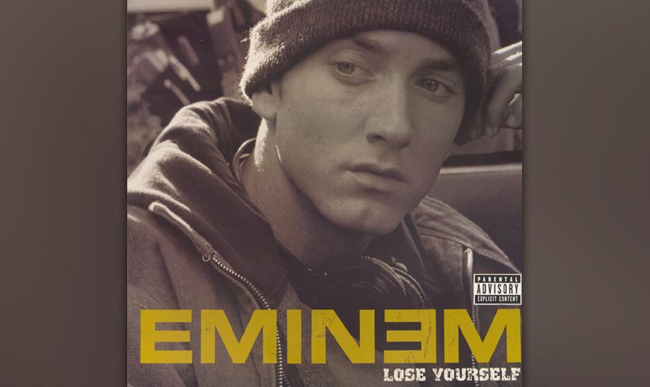 28. Eminem - 'Lose Yourself' ('8 Mile Soundtrack', 2002) Eminems größter Hit klingt wie die Story von'Rocky', in einen