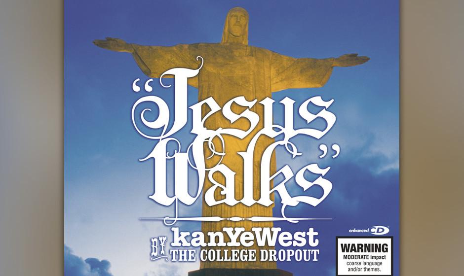 32. Kanye West - 'Jesus Walks' ('The College Dropout', 2004) Kanye war nie um seinen Gott-Komplex verlegen, aber Demut, nicht