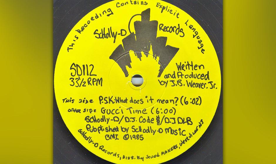 """34. Schoolly D - 'P.S.K. What Does It Mean?' ('Schooly D', 1986) """"Das war die Geburt des Gangsta-Rap"""", sagte Questlove, �"""