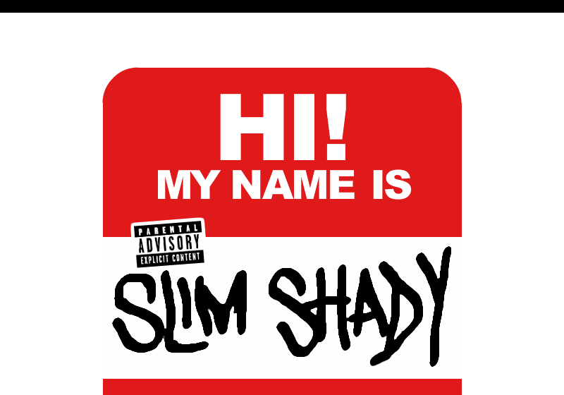 "39. Eminem - 'My Name Is...' ('The Slim Shady LP', 1999) ""God sent me to piss the world off"", verkündete Eminem"