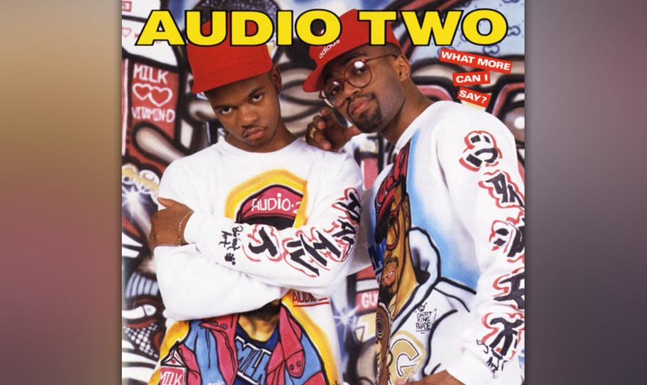 43. Audio Two - 'Top Billin' ('What More Can I Say?', 1988) Während er auf nichts als ein Drum-Break von Honeydrippers 'Im