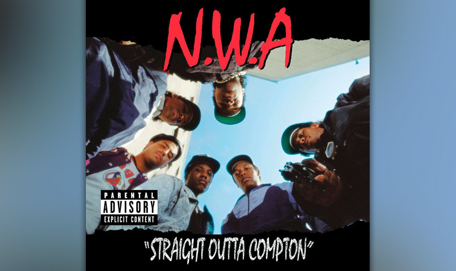 9. N.W.A, 'Straight Outta Compton' ('Straight Outta Compton', 1988). 'A murder rap to keep you dancin' with a crime record li