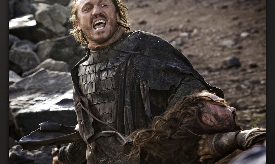 8. Bronn. Jeder liebt Bronn! Im Buch eher ein gemeiner Kämpfer, wird er –dank seines Errol-Flynn-Charmes –in der Ser