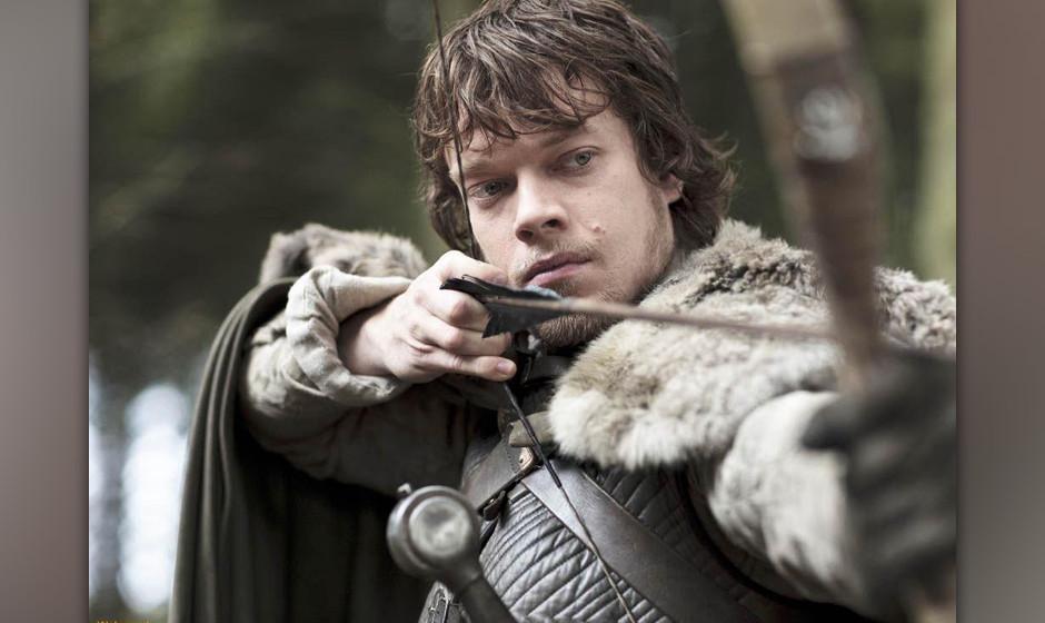 29. Theon Greyjoy. Der ewige Kronprinz. Versucht sich mit Sex und Sarkasmus die Zuversicht zu erhalten.