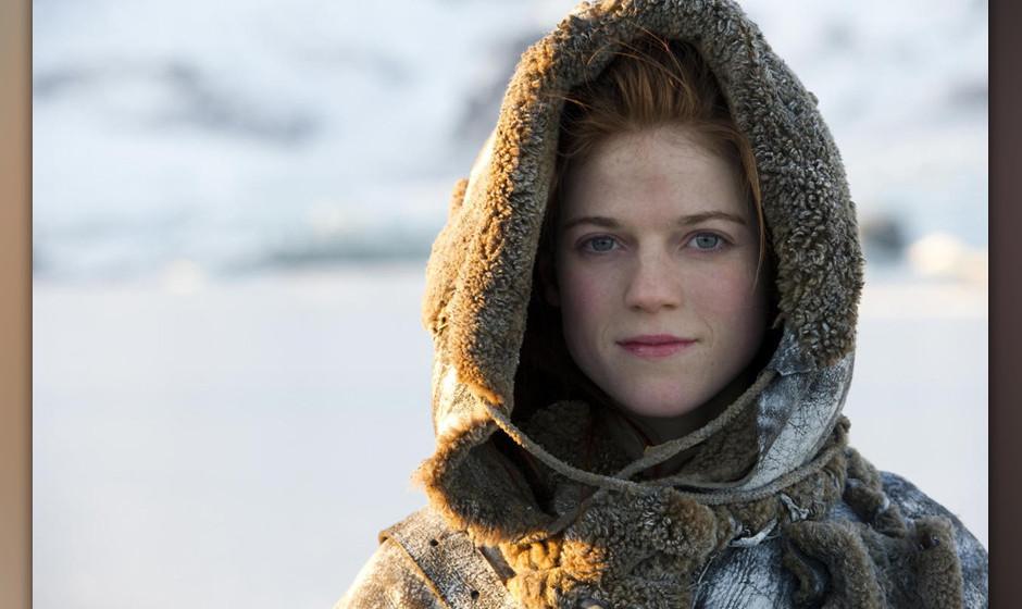 22. Ygritte. Die rüpelhafte Widlingsfrau kämpft, spuckt, flirtet und bringt Jon Snow alles über das Leben im Eis bei –