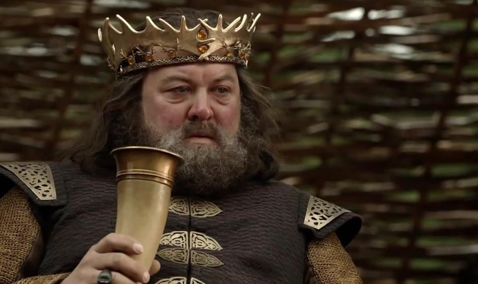 11. Robert Baratheon. Eine tragische Figur; wie der Sportler, der keine Höchstleistungen mehr erzielen kann, aber noch immer