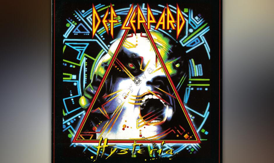 33. Def Leppard: 'Hysteria' (1987) Ausgerechnet ein paar schlechtfrisierte Briten zeigten (mit Hilfe von Produzent Mutt Lange