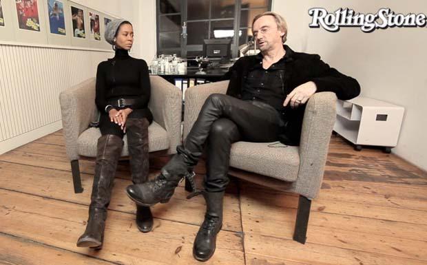 Marius Müller-Westernhagen und seine Frau Romney