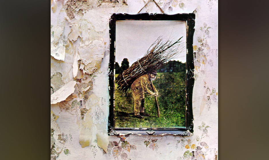 4. Led Zeppelin: 'IV' (1971) Eine Platte voller fieser, bluesig knurrender Riffmonster – von 'Black Dog' über 'Misty Mount